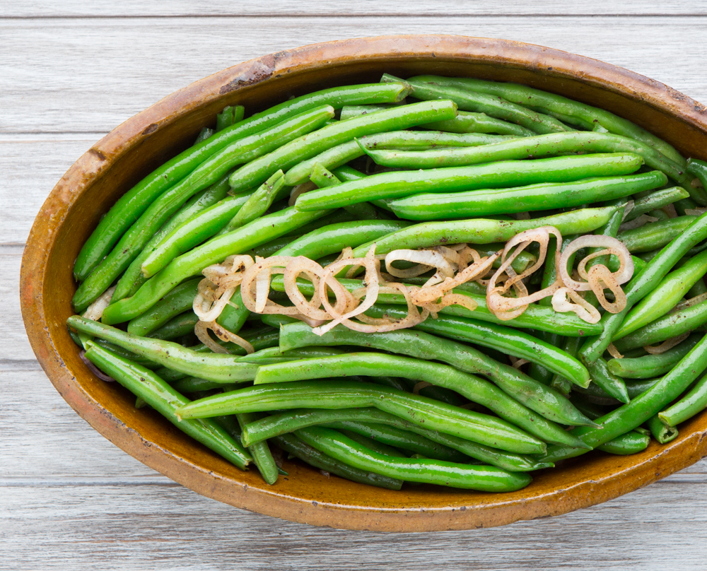 Green Beans with Shallot