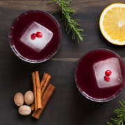 Sangria and mulled wine mash up, perfect holiday cocktail for your guests! By Revivalist Kitchen!