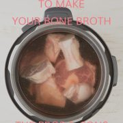 Pros & Cons of the best broth making gear. Paleo, GAPS, AIP, & Ketogenic diet friendly. Click through to read recipe & get your FREE bone broth tutorial video!