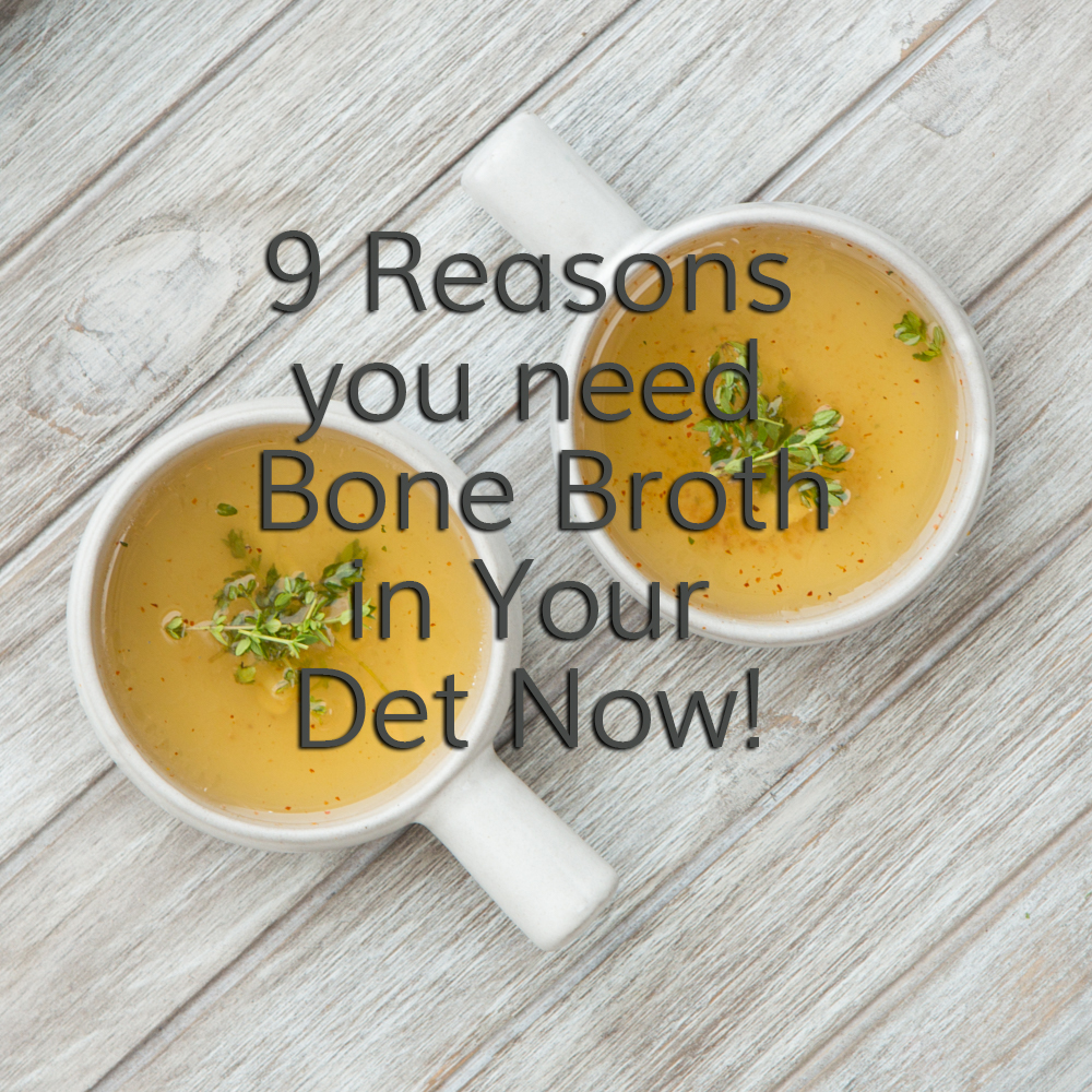 Bone broth and why you need this in your diet! Click through to read!